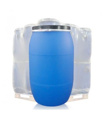 220L Blue Open Top Keg